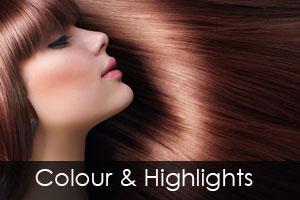hair colouring & highlights